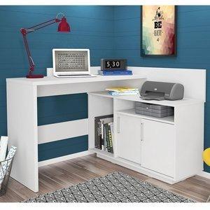 Escrivaninha Mega Office Olivar Branco