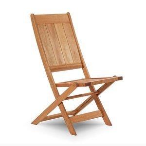 Cadeira Dobrável Acqualung sem Braços Mão e Formão Jatobá