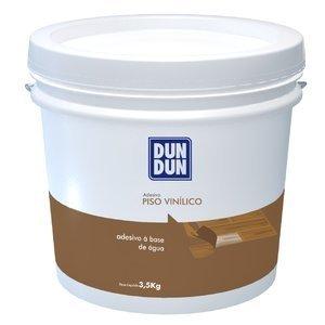 Cola Piso Vinílico Manta ou Régua Base Água DunDun 3,5kg