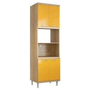 Paneleiro para Forno 5120 Sicília Multimóveis Argila/Amarelo Gema