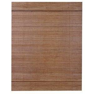 Persiana Bambu Romana 25mm Isadora Design 2,20mx1,00m Nogueira