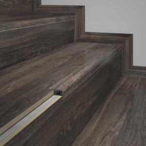 Frontal de Escada Eucafloor Tecno 2cmx4cm Amadeirado Black