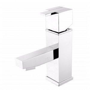 Misturador Monocomando para Banheiro 2875 Quadra C215 Meber Metais Cromado