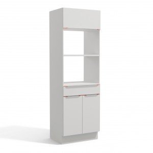 Paneleiro 3 Portas 1 Gavetas 2 Fornos 70cm P318 Premium Kappesberg Branco
