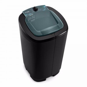 Lavadora Semiautomática 7kg Ágile Mueller 220V Preto