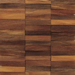 Revestimento de Madeira Wood Line Rústico Lascado 30cmx30cm Madeira Mista