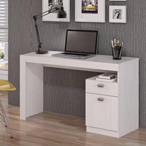 Escrivaninha 1 Porta 1 Gaveta Melissa Permobili Branco