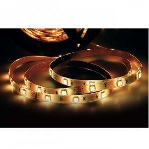 Fita LED 2,5W 30 LEDs/metro 5m Bivolt Taschibra Luz 3000K