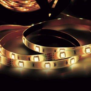 Fita LED 2,5W 30 LEDs/metro 3m 12V IP20 Taschibra 3000K Luz Amarela