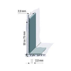 Rodapé Vinílico Plano Tarkett 5 cm (ML) 107