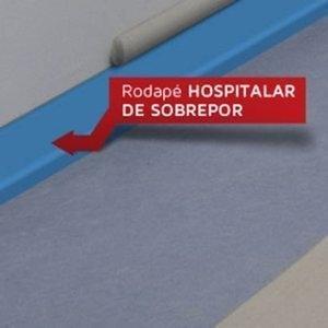 Rodapé Hospitalar de Sobrepor Dipiso 7 cm (ML) 9205699
